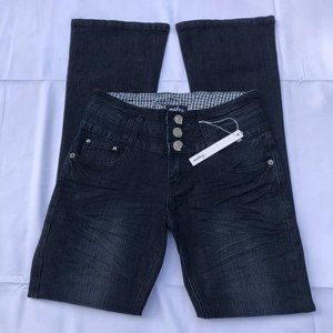 Size 1 Macy's Junior Jeans Bootcut NWT